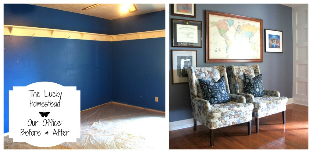 Our office before and after
